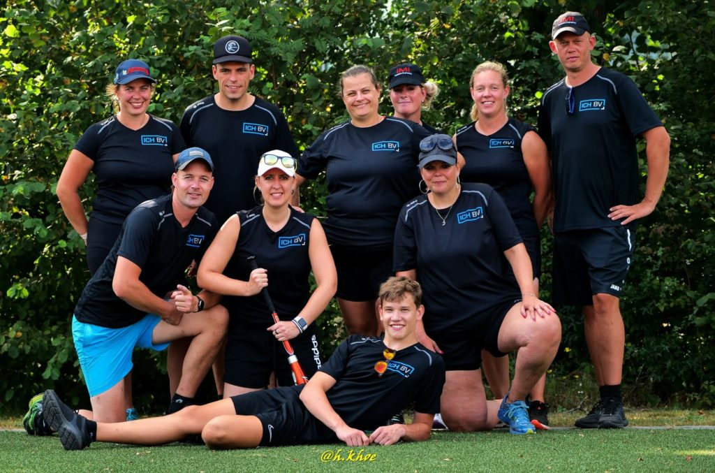 teamfoto ICH BV softbal